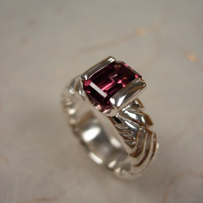 Ring: Sterling Silver and Tourmaline