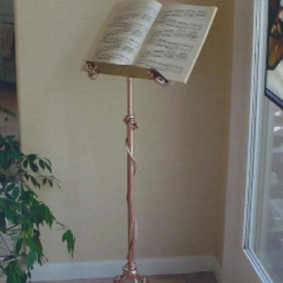 Music Stand: Copper & Bronze
